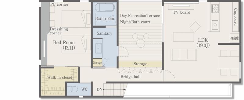 間取り|【Garage House ガレージハウス】建築事例 ...: garagehouse-r4.com/roomplan